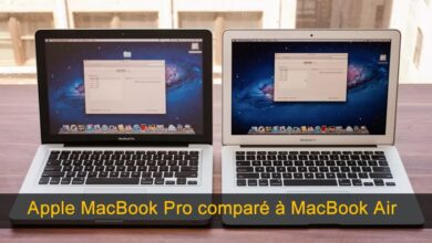 Photo of Apple MacBook Pro comparé à MacBook Air, lequel est meilleur? [2020]